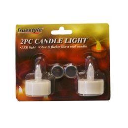 96 Units of 2 Piece Candle Light - Night Lights