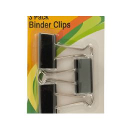 72 Units of Large Binder Clips - Clipboards and Binders