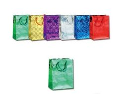 144 Units of Small Holographic Gift Bag Small - Gift Bags Hologram