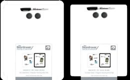 24 Wholesale Dry Erase Magnetic Board 11x14in