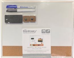 10 Wholesale Combo Dry Erase/ Cork Board 11x14in