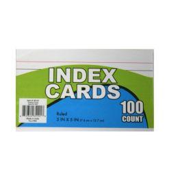 60 Bulk Index Cards 3x5in 100 ct