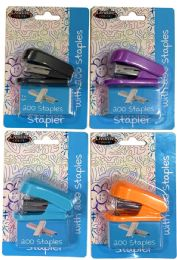 48 Units of Mini Stapler With 200 Staples - Staples and Staplers