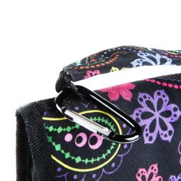 24 Units of Lunch Bag Insulated With Velcro Close And Caribiner Clip Trendsetters - Lunch Bags & Accessories