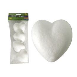 "96 Units of Craft Foam Hearts 4pc 3.25x3"" - Foam & Felt"