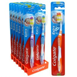 120 Units of Colgate Toothbrush Extra Clean Medium - Toothbrushes and Toothpaste