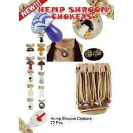 72 Wholesale Hemp Shroom Chokers