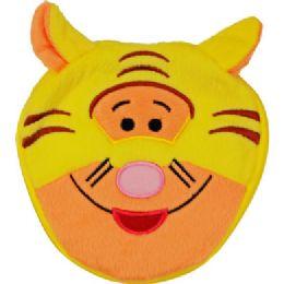144 Bulk Plush Animal Cd Case In Tiger