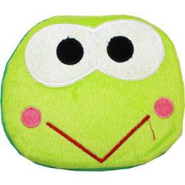 144 Bulk Plush Green Frog Cd Case
