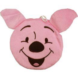 144 Bulk Plush Pink Winnie The Pooh Cd Holder