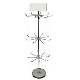 4 Units of Metal Countertop Display 38 Inch High - Displays & Fixtures