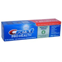 24 Units of Crest Toothpaste 6oz Pro Health Cool Pepermint - Toothbrushes and Toothpaste