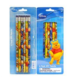 96 Bulk Pencil #2 6pk Pooh
