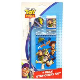 96 Bulk Stationery Set 4pk Toy Story