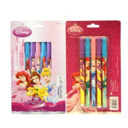 96 Bulk Stick Pen 5pk Princess