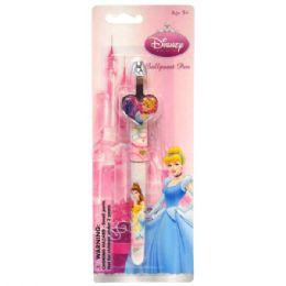 48 Bulk Clip Pen Die Cast Princess