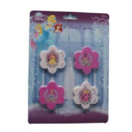 48 Bulk Eraser 4pk Princess