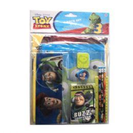 24 Bulk 11pc Stationery Set Toy Story