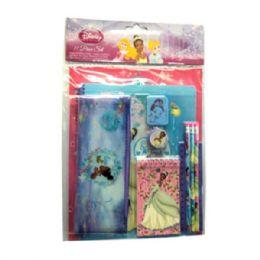 24 Bulk 11pc Stationery Set Princess