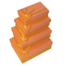 384 Units of Gift Box Rectangular - Jewelry Box