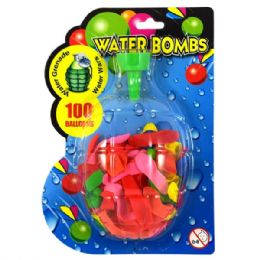 72 of Water Balloons 100ct W/ Filler
