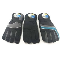 24 Units of Men's Ski Glove Winter - Ski Gloves