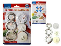 96 Units of 6pc Sink Strainers And Stoppers - Strainers & Funnels