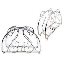 48 Units of Silver Napkin Holder - Napkin and Paper Towel Holders
