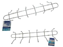 72 Units of 6 DoublE-Ended Wall Mounted Hooks - Hooks