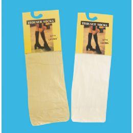 48 Bulk Women's Trouser Sock