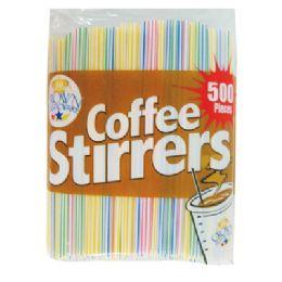 48 Units of Coffee Stirrer - Straws and Stirrers