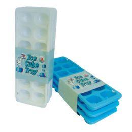 36 Units of 3pk Ice Cube Tray - Freezer Items