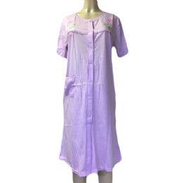 60 Units of Nines Ladys House Dress / Pajama Assorted Colors Size Medium - Women's Pajamas and Sleepwear