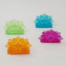 72 Units of Napkin Holders Flower Shape - Napkin and Paper Towel Holders