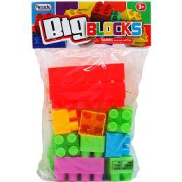 48 Units of Twenty Piece Jumbo Blocks - Educational Toys