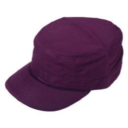 24 Wholesale Fitted Army Military Cadet In Purple