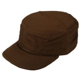 24 Wholesale Fitted Army Military Cadet In Brown