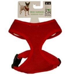 48 Units of Medium Soft Harness Assorted Colors - Pet Accessories