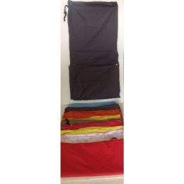 144 Units of Laundry Bag With Drawstring In Asst Colors - Laundry  Supplies