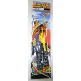 72 Units of Indian Bow And Arrow Archery Set - Darts & Archery Sets