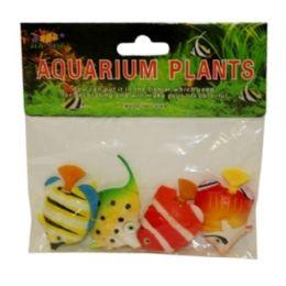 240 Units of 4 Piece Artificial Aquarium Fish Assorted Style - Animals & Reptiles