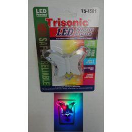 72 Units of Led Butterfly Night Light - Night Lights
