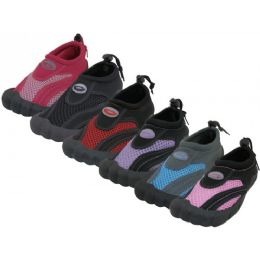 36 Units of Wholesale Women's Barefoot Wave Water Shoes - Women's Aqua Socks