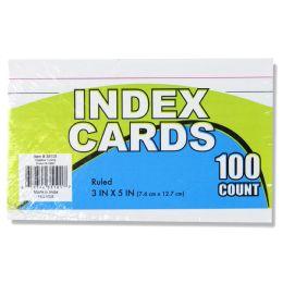 72 Bulk 100 Pack Of Index Cards
