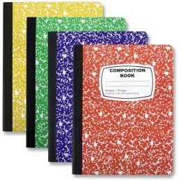 48 Bulk Composition Book - Assorted Colors