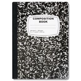 48 Bulk Composition Book - Black Only