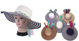 72 Units of Women Summer Hat - Sun Hats