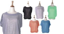 72 of Women's Assorted Color Fashion Tops