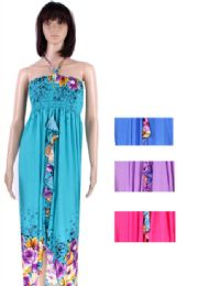 24 of Womens Fashion Sun Dresses Assorted Colors And Sizes Summer Dresses