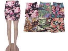36 Units of Women's Denim Like Skirt Assorted Styles - Womens Skirts